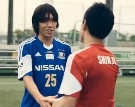 元日本代表の10番、中村俊輔
