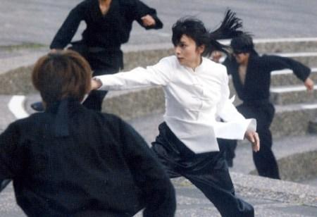 アクション映画にも挑戦していました。映画「少林少女」(画像引用:http://blogimg.goo.ne.jp/user_image/49/ca/ee8f74f641960429b98922108b028670.jpg)
