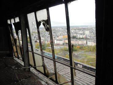 Blick vom Dachgeschoss auf Esch sur Elzette