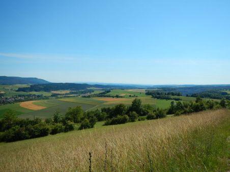 Blick vom kleinen Buchberg nach Süden