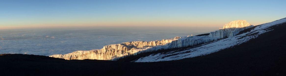 Blick auf den Kersten-Gletscher