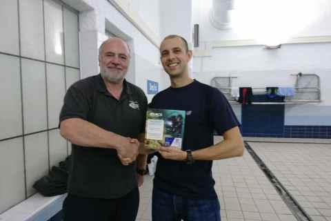 Ben gains Ocean Diver Qualification.