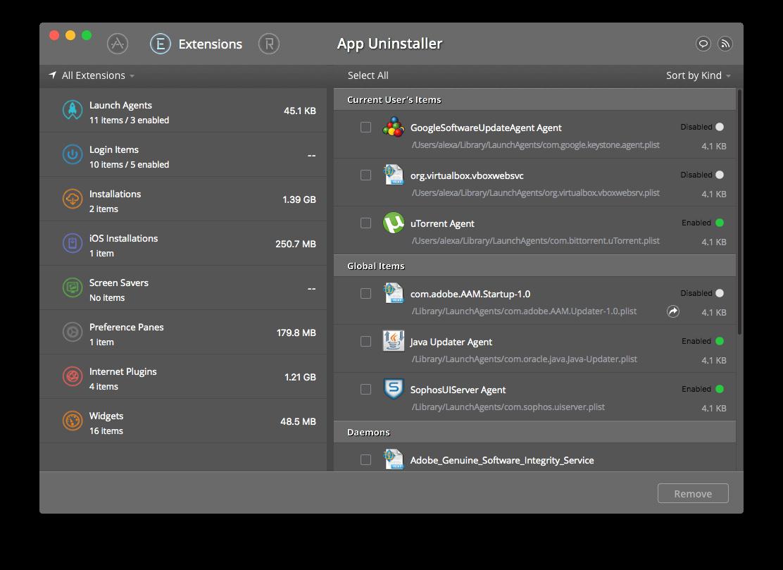 App Uninstaller for Mac 4.6 破解版 - 应用程序卸载