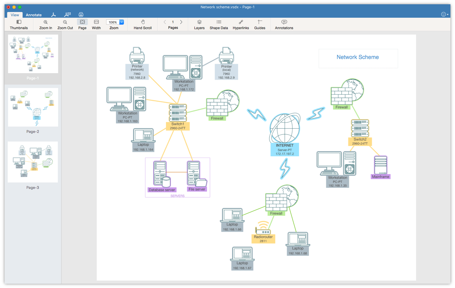 How to Open Visio Files on Mac with VSDX Viewer