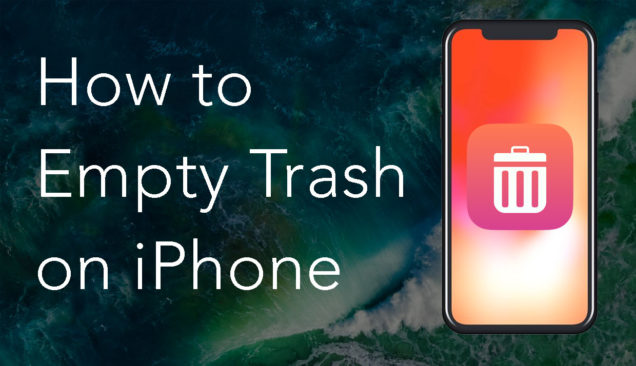 how to empty trash