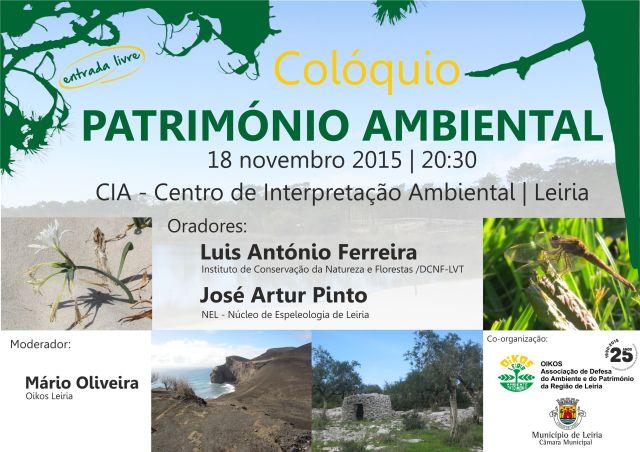 Coloquio Património Ambiental