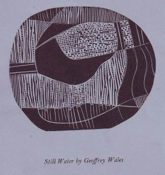 Still water by Geoffrey Wales October 1987