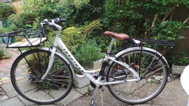 Bike with new carriers