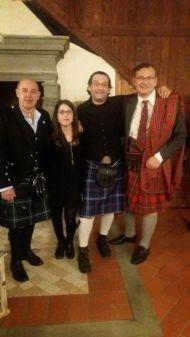 """Foto di gruppo, vicino a me Ferdinando e Ulisse di """"Oro di Scozia"""""""