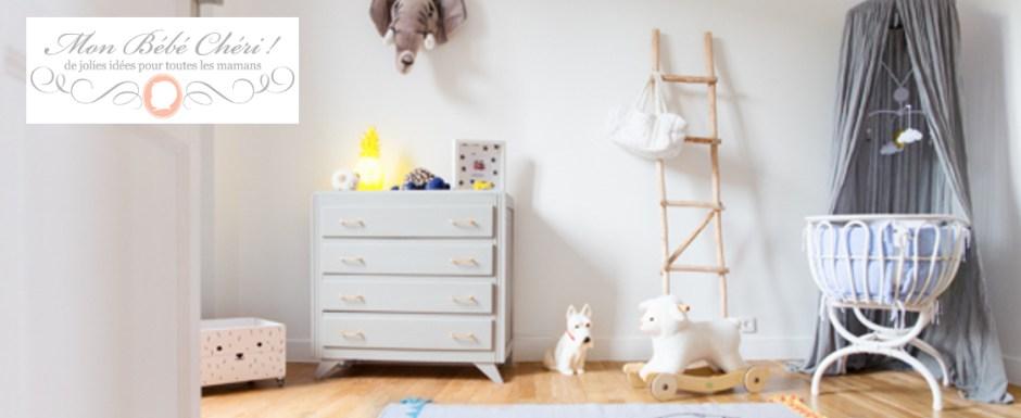 Les superbes chambres de bébés sur le blog Mon Bébé Chéri