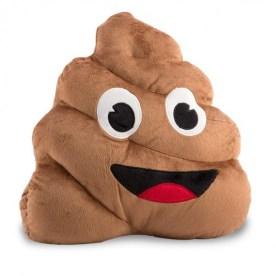 Coussin Emoji Caca - Best of des cadeaux pourris - blog maman bordeaux Ne le dites à personne