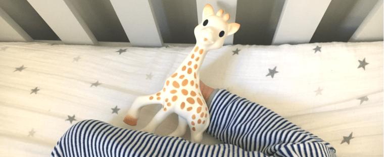 Sophie la girafe et moi - blog maman ne le dites a personne