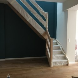 Escalier - L'interminable fin des travaux - Projet rénovation d'échoppe à Bordeaux. Rénovation maison bordelaise - à lire sur le Blog Maman Ne le dites a personne