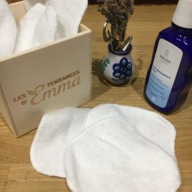 Cotons lavables - Tendance d'Emma - 6 trucs écolos pour mere débordées - Blog Maman Bio Ne le dites à Personne #cotonsbio #cotonslavables #tendancedemma #blogbio #blogmamanbio #mamanbio #bébébio #blogmaman #neleditesapersonne