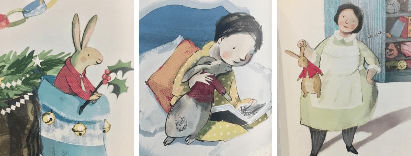 Deux beaux livres enfants pour noel #livreenfant #albumjeunesse #blogenfant #blogmaman #lelapindevelours #lenoeldelagrandefamille #Livrenoel #noel #neleditesapersonne