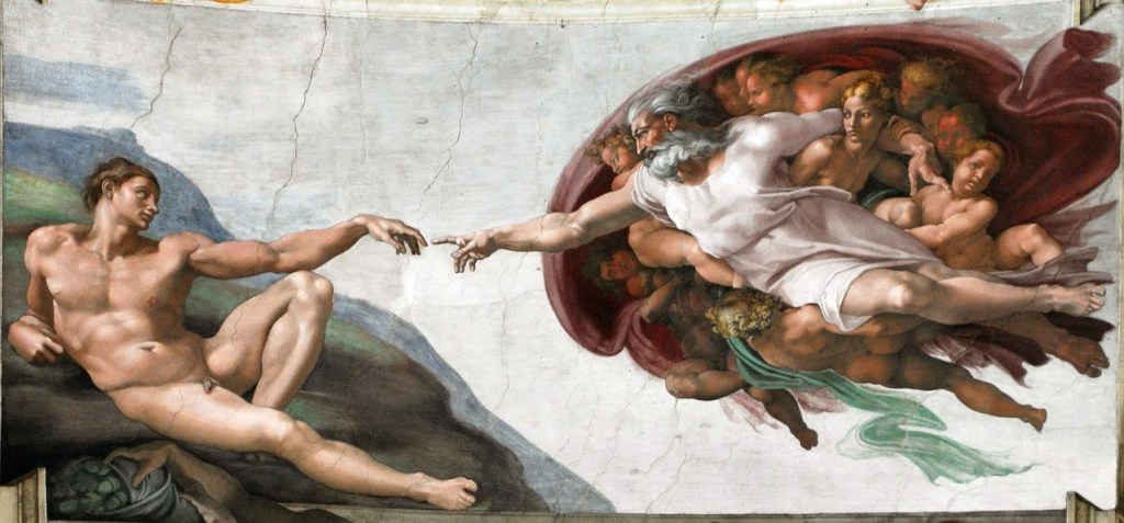 Rome en vol direct depuis Bordeaux_ Visiter la Chapelle Sixtine et voir la création d'Adam de Michel Ange_ Week end a Rome en Italie - Blog Bordeaux Ne le dites a personne #michelange #creationdadam #art #chapellesixtine #rome #weekendarome #Bordeauxrome #blogbordeaux