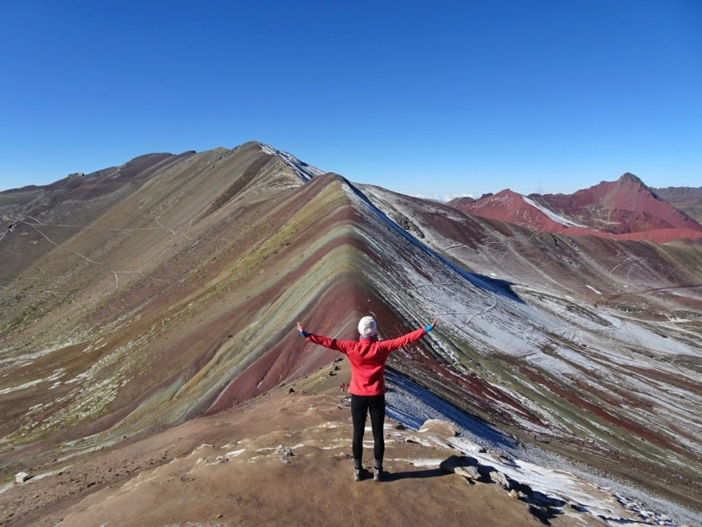 Nele Giese Rainbow Mountain Peru