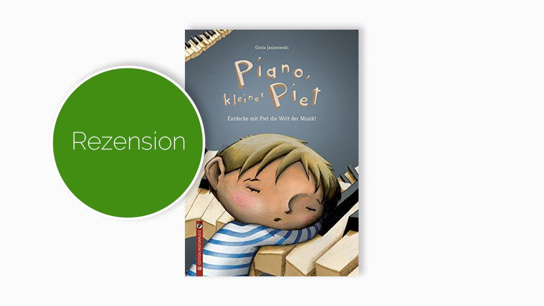 """Buchcover vom Bilderbuch """"Piano, kleiner Piet"""""""