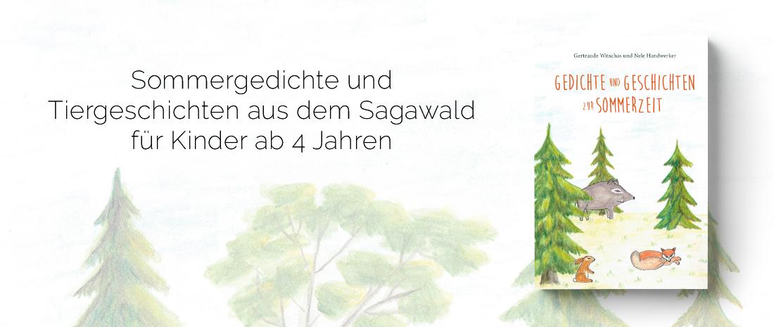 """Cover des Buches """"Gedichte und Geschichten zur Sommerzeit"""" von Nele Handwerker"""