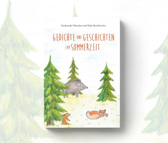 """Cover """"Sommerbuch"""" von Gertraude Witschas und Nele Handwerker"""