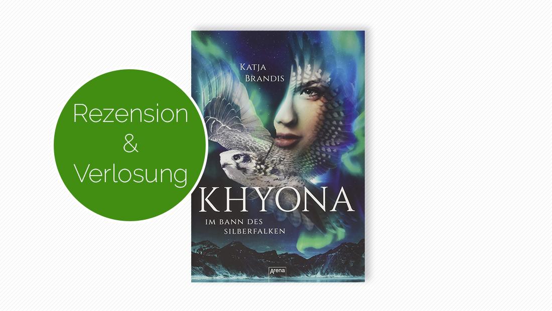 """Buchcover vom Jugendbuch """"Khyona (1). Im Bann des Silberfalken"""""""