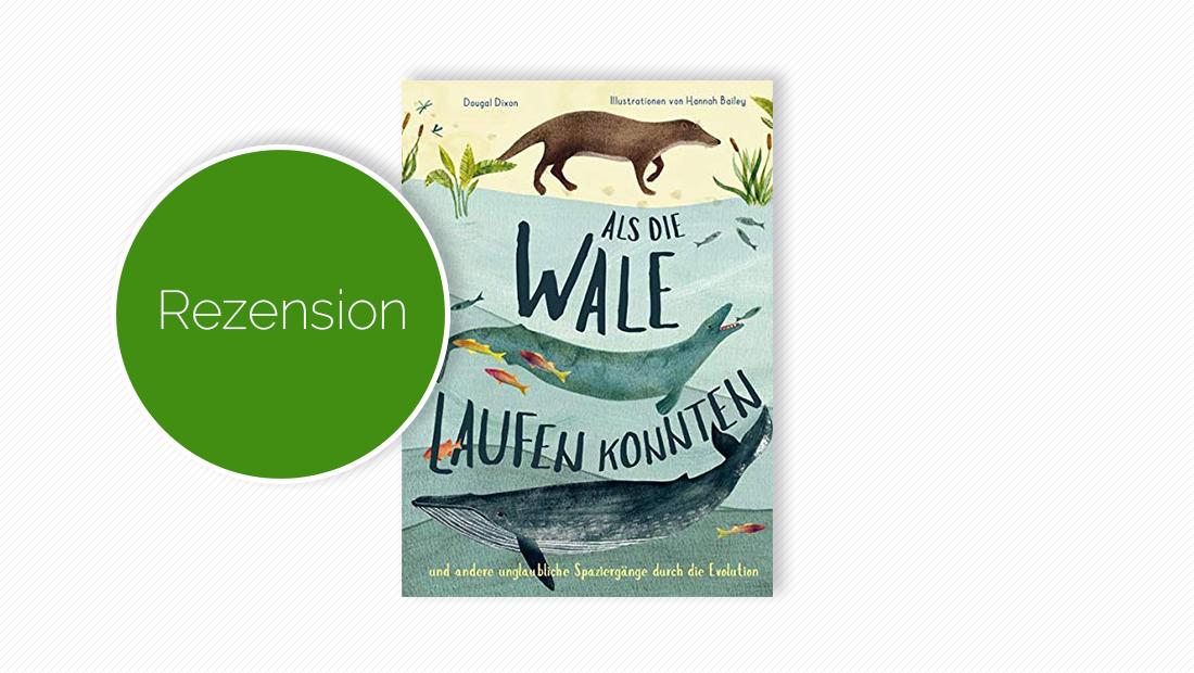 """Cover vom Kindersachbuch """"Als die Wale laufen konnten"""""""