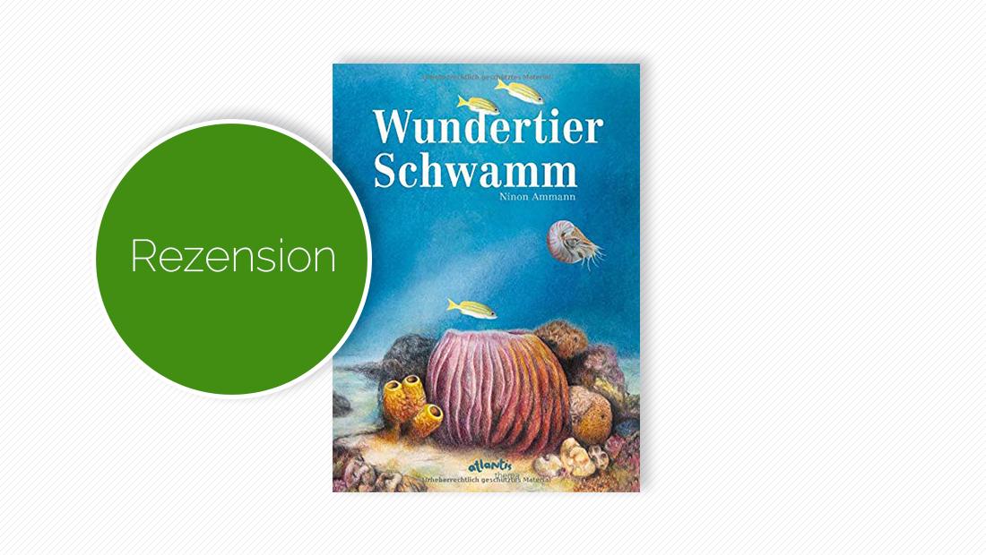 """Cover vom Kinderbuch """"Wundertier Schwamm"""""""