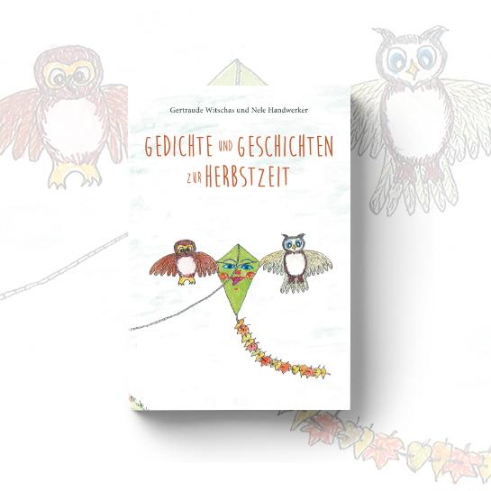 """Cover vom Kinderbuch """"Gedichte und Geschichten zur Herbstzeit"""""""