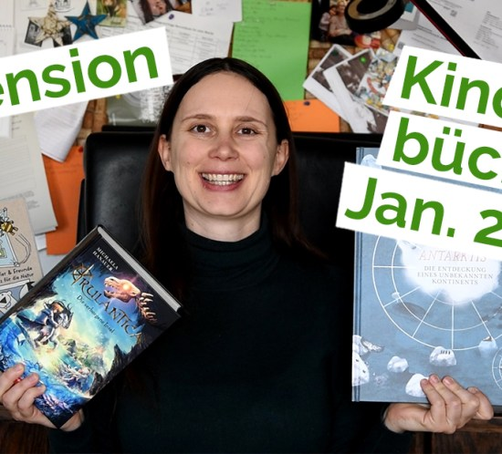 "Standbild aus dem YouTube Video ""Rezension 40 – Kinderbücher"""