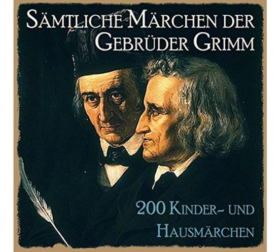 Cover vom Hörbuch mit allen 200 Kinder- und Hausmärchen der Brüder Grimm