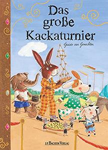 Cover vom Bilderbuch Das große Kackaturnier