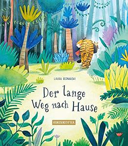 Cover vom Bilderbuch Der lange Weg nach Hause
