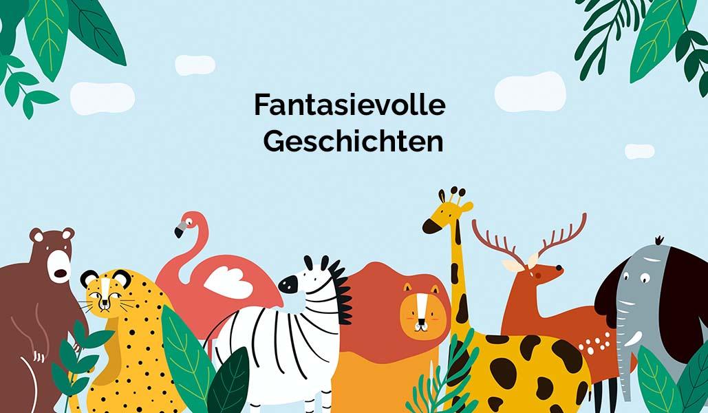 Coverbild zur Folge Fantasievolle Geschichten