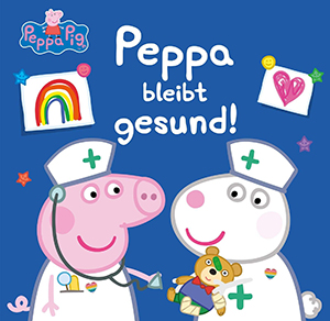 Cover vom Bilderbuch Peppa bleibt gesund!