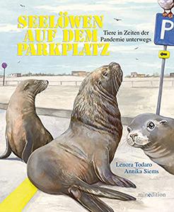 Cover vom Kinderbuch Seelöwen auf dem Parkplatz