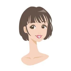 口紅が似合わない理由:薄い唇または口が小さいおちょぼ口だから