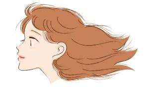 髪の生えグセが原因で前髪が割れる