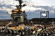 Aircraft Carrier Court, USS Carl Vincen