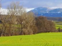 6. Vista sul Monte Amiata e Campiglia d'Orcia (Si)