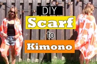 Scarf, kimono, kimono diy, dollar store kimono, diy, do it yourself kimono, dollarstore kimono diy, easy kimono diy, how to create a kimono, how to diy a kimono, how to turn a scarf into a kimono, nelle creations diy, Toronto diy blogger, diy blogger, top diys, top kimono diy, Toronto blogger, top Toronto bloggers, kimono tutorial diy, what to do with an old scarf