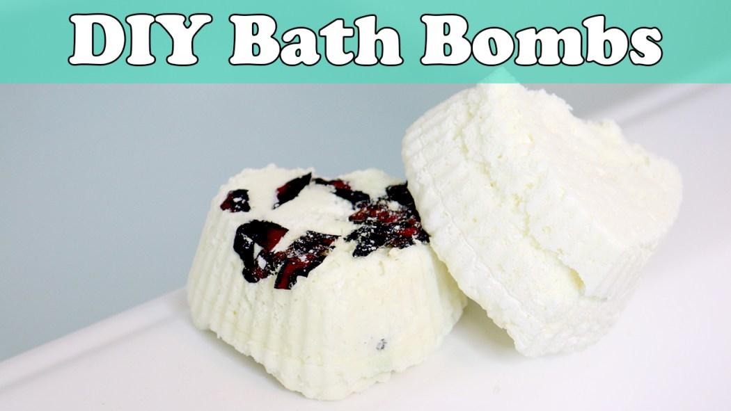 DIY No Citric Acid Bath Bombs