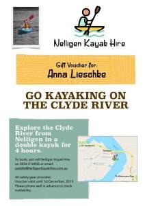 Kayaking Gift Voucher