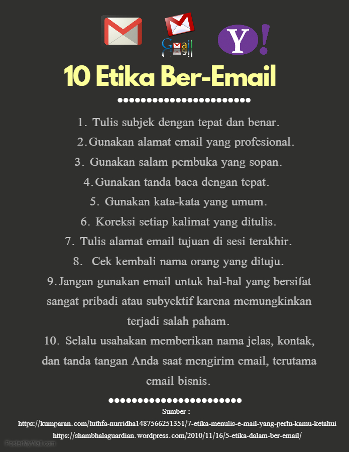 Etika Beremail : etika, beremail, Etika, Bere-mail, Cyber