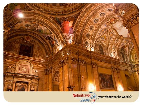 Iglesia catedral Cordoba Argentina; Tourist Attractions Cordoba Argentina; Historical Buildings Cordoba Argentina