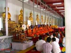 Buddhist Monks praying,Buddhist Monks in Thailand