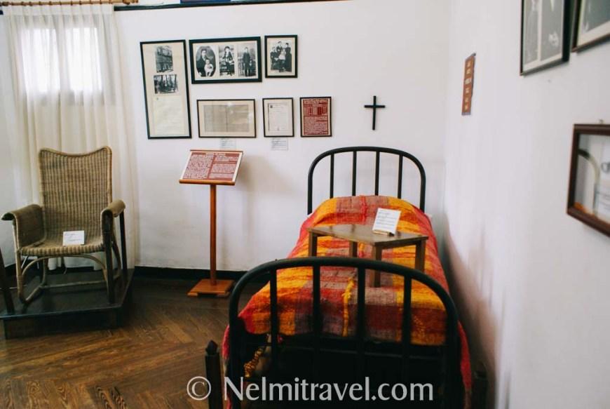 The bedroom of Manuel de Falla.