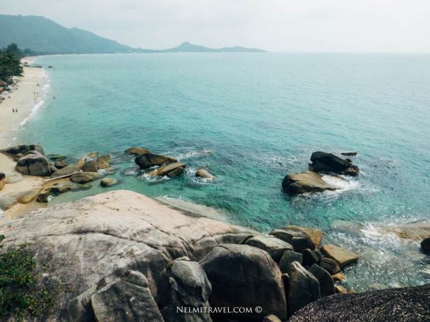 Lamai View-point in Koh Samui