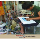 Koh Samui; Artists in Koh Samui; Artist drawing from photos; Paintings in Koh Samui; Art work of Koh Samui;