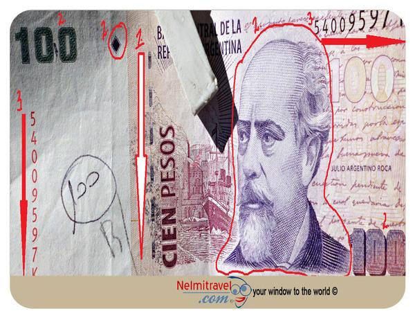 money tips, travel tips, fake money in argentina, fake pesos, safety, security, counterfeit