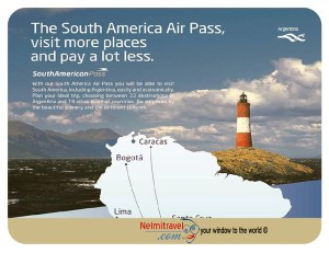 Aerolineas Argentinas,South American Pass,Argentina Pass,South American Travel,South American Airpass,South America pass
